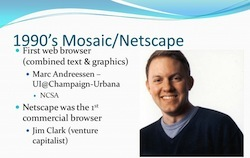 Marc Andreessen and the first ubiquitous graphical browser
